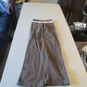 Brown Lululemon Athletic Pants Size 2 Tall